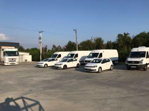 Flota masini Stalex Logistic Valcea Gorj